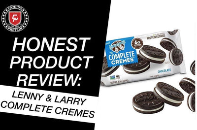 Honest Product Review: Lenny and Larry Complete Cremes (Oreos)