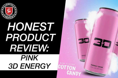 Honest Product Review: Pink 3D Energy Drink