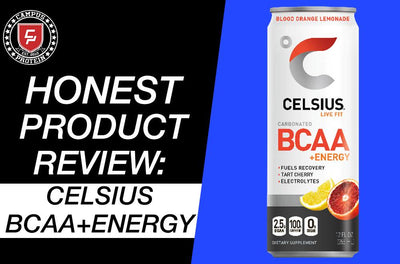 Honest Product Review: Celsius BCAA plus Energy