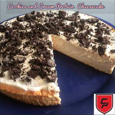 Combat Cookies & Cream Cheesecake