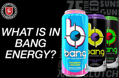 What is in BANG Energy Drinks?
