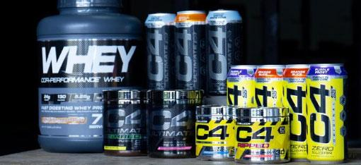 Campus Protein Brand Stacks
