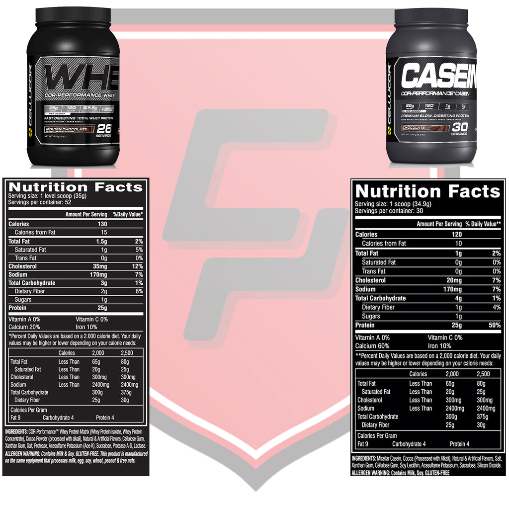 Cellucor Protein Whey and Casein