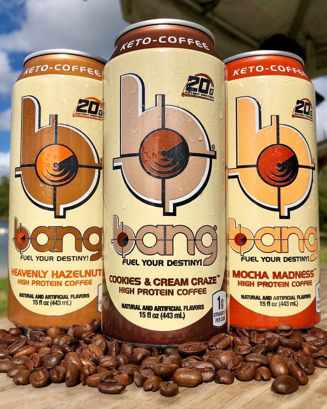 VPX BANG Energy Keto Coffee Energy Drink