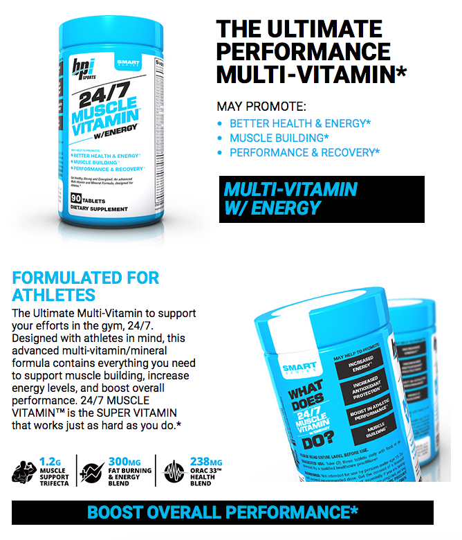 24/7 Multi Vitamin by BPi