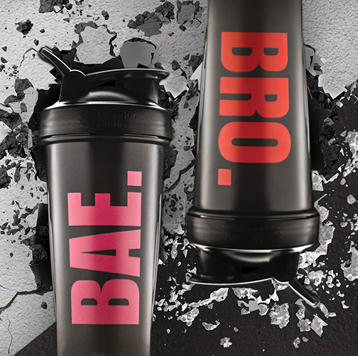 Blender Bottle BAE and BRO Shaker