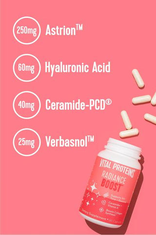 Radiance Boost by Vital Proteins Collagen Supplements for Women