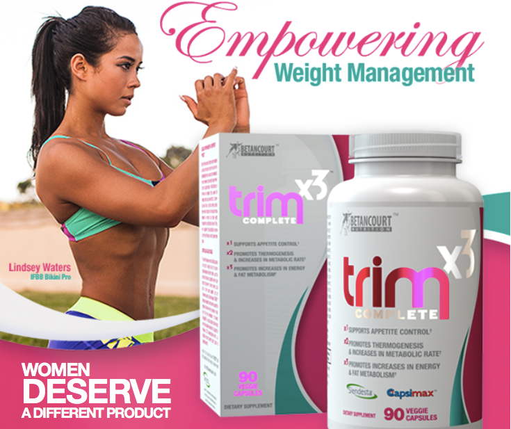 Lindsay Waters Trimx3 Fat loss product by Betancourt