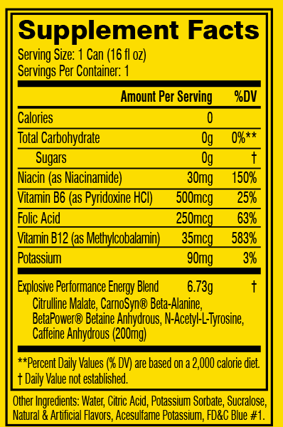 Cellucor C4 Carbonated Energy Drink