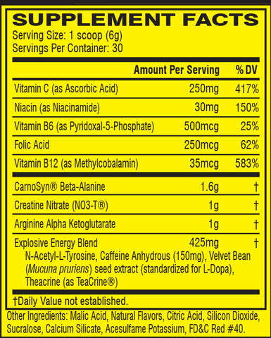 Cellucor C4 Original Pre workout