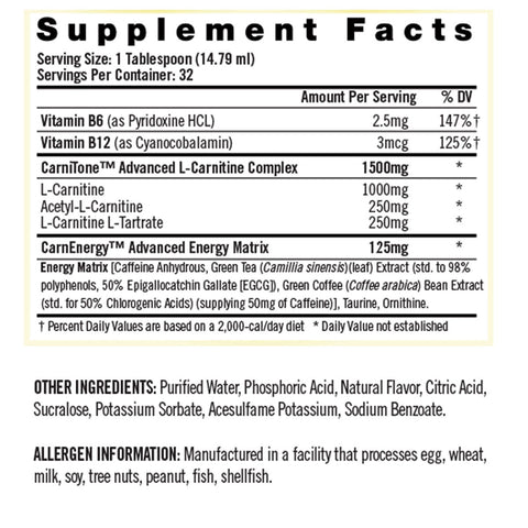 iSatori Carnitine With Energy