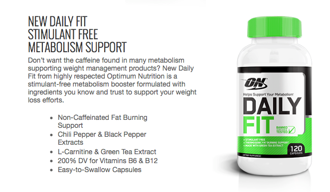 Daily Fit by Optimum Nutrition