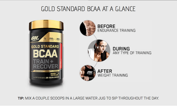 Gold Standard BCAA by Optimum