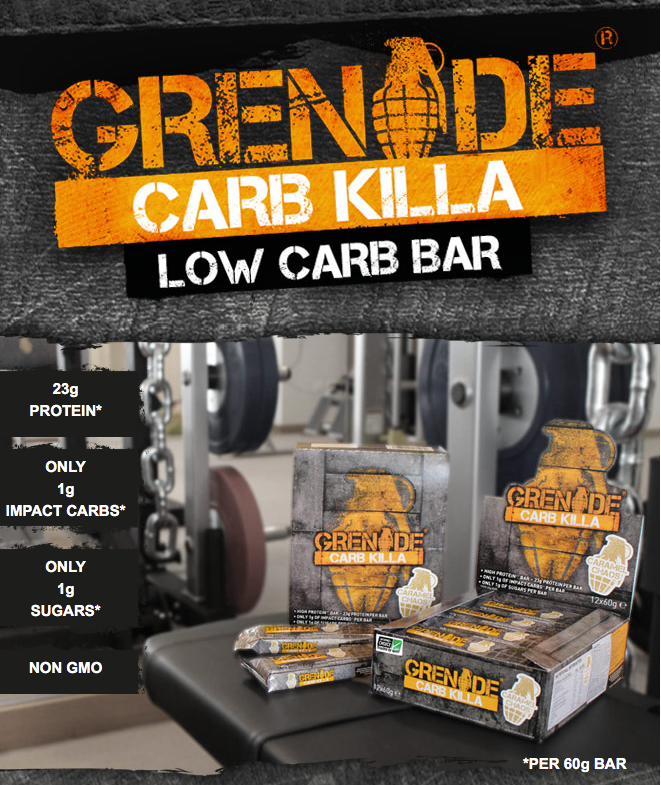 Grenade Carb Killa Low Carb Protein Bar