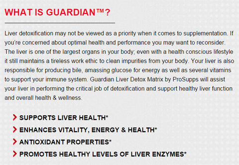 Guardian by Pro Supps