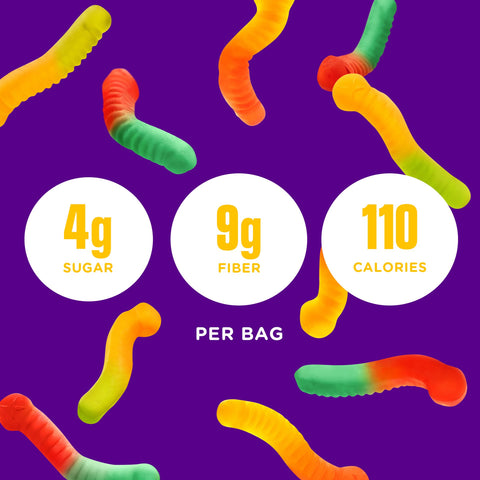 Smart Sweets Gummy Worms