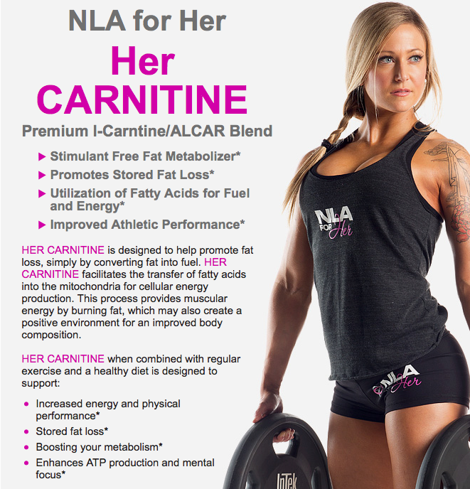 Her Carnitine by NLA for Her