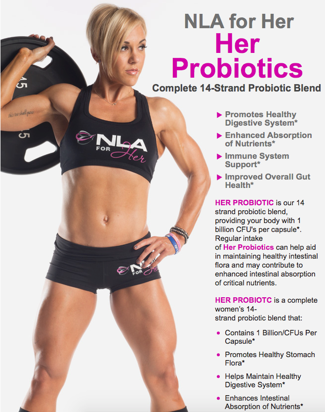 Her Probiotic by NLA for Her