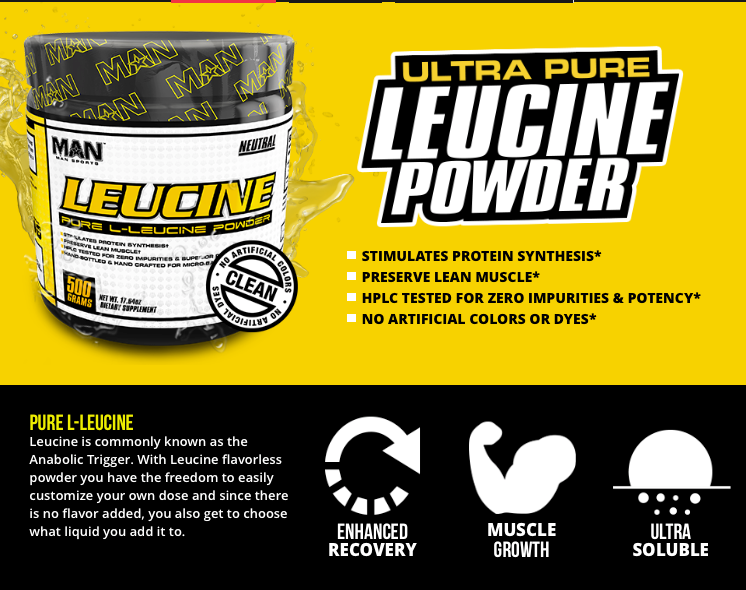 Leucine by Man Sports