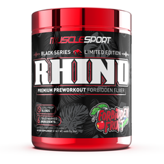 Musclesport Limited Edition Rhino Black Forbidden Fruit