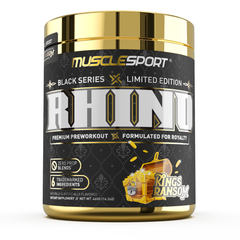 Kings Ransom Pre Workout by Musclesport Rhino Black Limited Edition