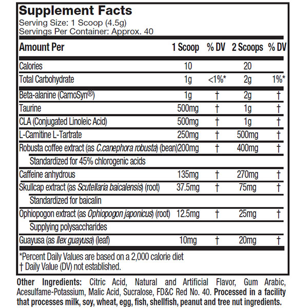 Muscle Tech Hydroxycut Hardcore Next Gen Accelerator Nutrition