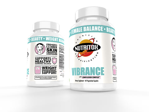 Nutritox Vibrance Female Hormone Supplement Balance