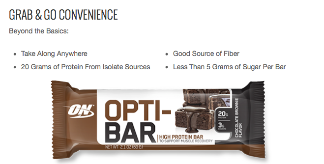 Opti-Bar by Optimum Nutrition
