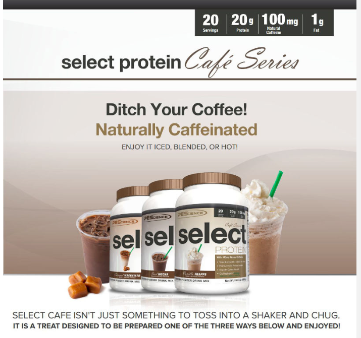 Cafe Series Select Protein by PES
