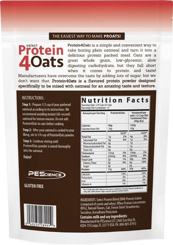 Select Protein4Oats by PES