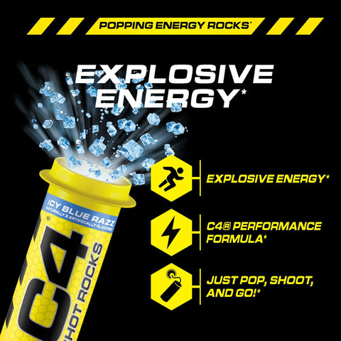 Cellucor Shot Rocks Pop Rock Pre Workout