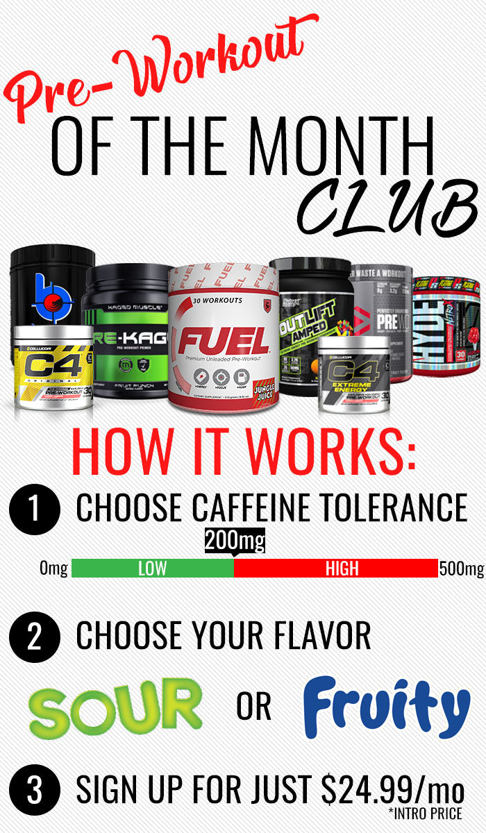 Campus Protein Pre Workout of the Month Club