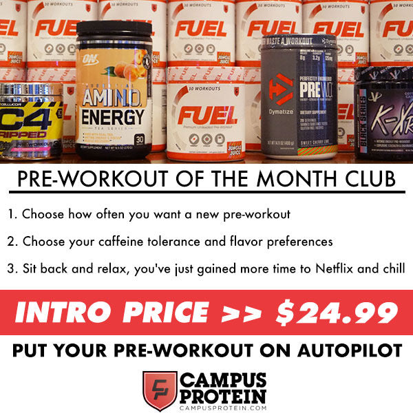 Campus Protein Pre Workout of the Month Deal