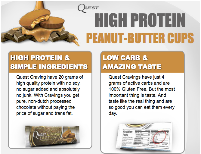 Quest Nutrition PB Cravings