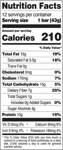 Quest Nutrition Snack Bar l How many Calories