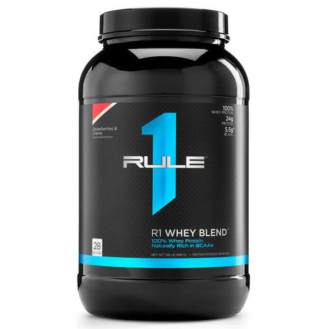 Rule1 R1 Whey Blend Protein Post Workout