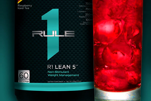 Rule1 Lean 5 Raspberry Lemonade