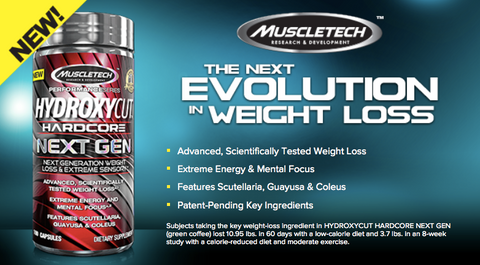 Muscle Tech Hydroxy Cut Hardcore Next Gen