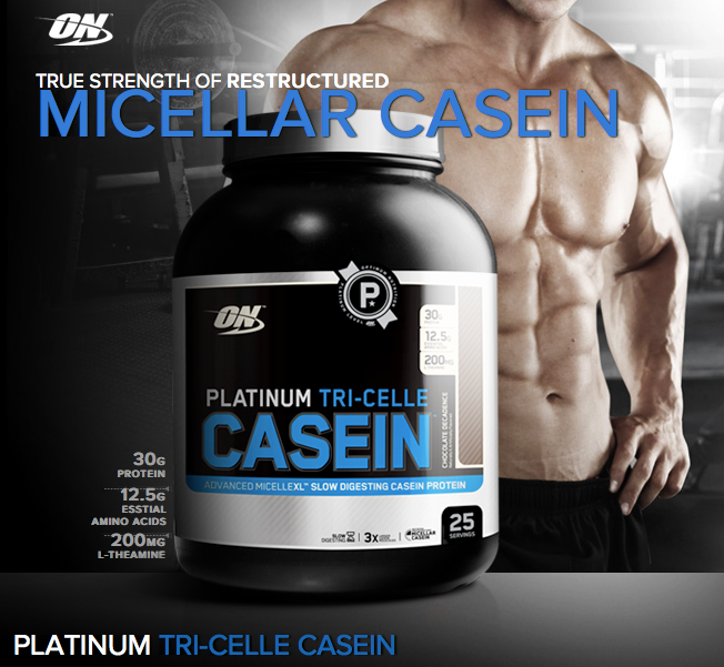 Optimum Nutrition Platinum Tri-Celle Casein