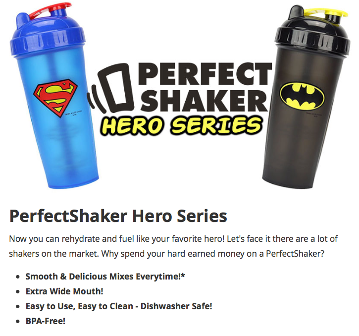 Perfect Shaker Hero Series
