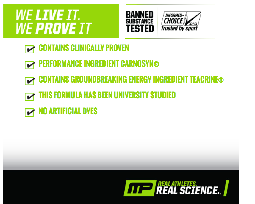 MusclePharm Mission Statement