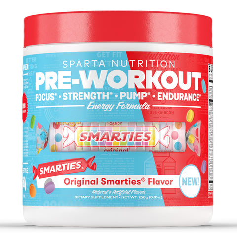 Sparta Nutrition Pre Workout Smarties Candy Flavor