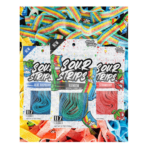 Actual Candy by Maxx Chewning Sour Strips