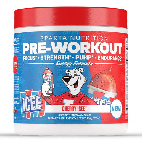 SPARTA Nutrition Pre Workout ICEE Flavor