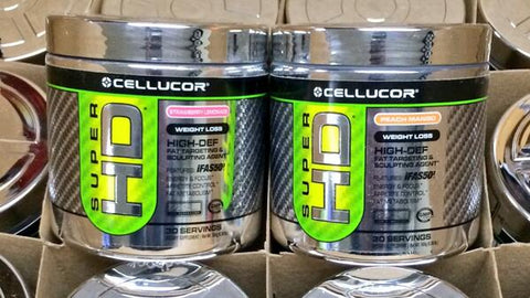 Cellucor SuperHD Powder