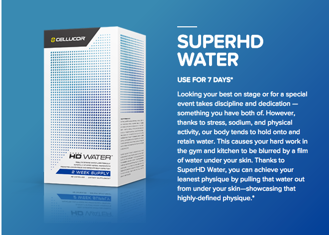 Cellucor SuperHD Water