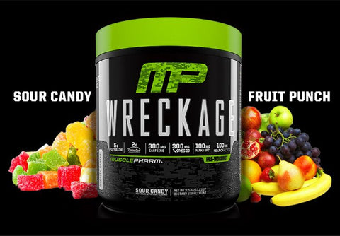 Musclepharm Wreckage Pre Workout