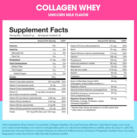 obvi collagen whey protein powder beauty supplement