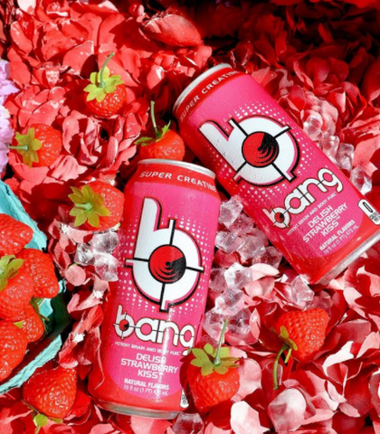 BANG Energy Drink Can Delish Strawberry Kiss