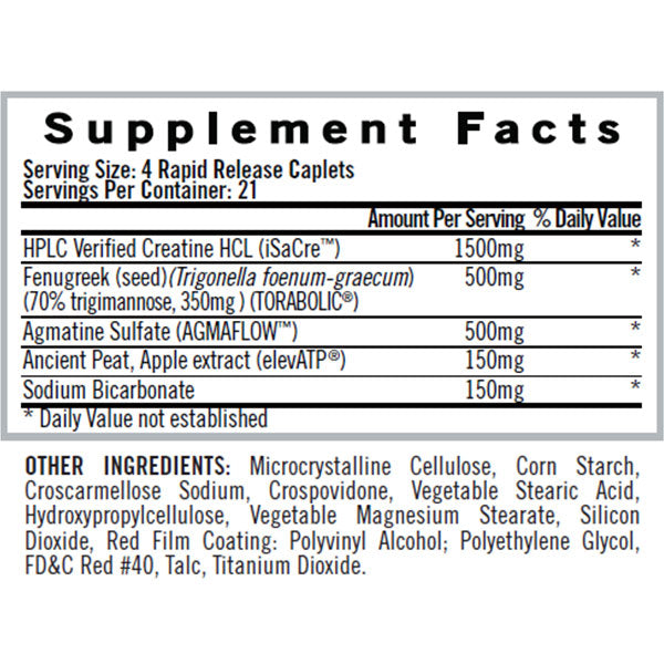 iSatori Maxon Supplement Facts